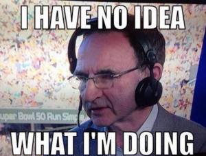 Evening Times: Former Celtic manager Martin O'Neill was a pundit at Super Bowl 50 - and Twitter couldn't cope