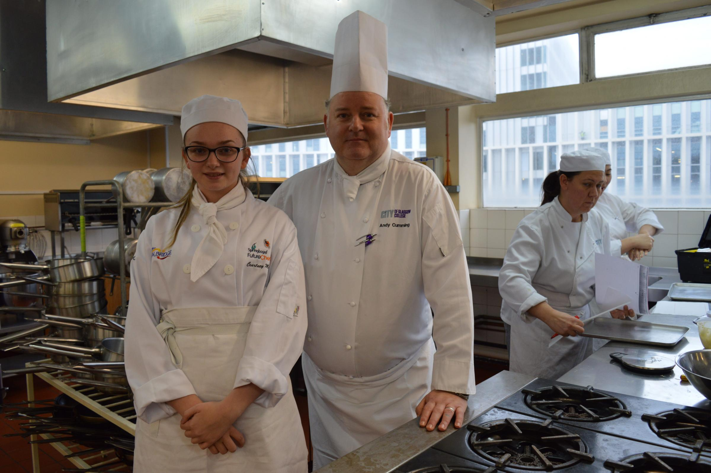 Glasgow Teenager to compete to be top chef