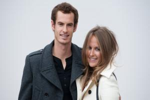 Bookies reveal favourite names for Andy Murray and Kim Sears' baby girl