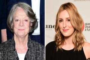 Can you see the likeness between Maggie Smith and Laura Carmichael? The Downton Abbey casting director certainly could