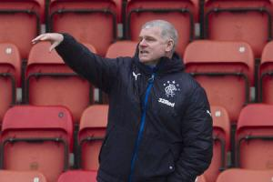Ian Durrant urges Rangers colts to bolt back door and stop losing goals in injury time after Falkirk agony