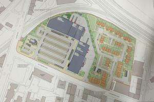 Plans unveiled to demolish Glasgow bus depot and build more than 100 homes, shops and drive-thru