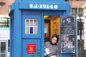 Glasgow's first zero waste micro cafe opens - in a Tardis