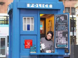 Evening Times: Glasgow's first zero waste micro cafe opens - in a Tardis