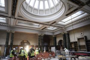 Inside the vaults of a landmark Glasgow building as it transforms into a £1.5million steakhouse