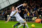 Quality: Tom Walsh has contributed well for Dumbarton since his loan move from Rangers.