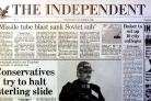 The Independent newspaper to become digital only