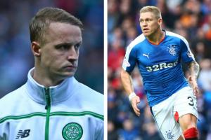 Rangers' Martyn Waghorn says he has a different job to Celtic's Leigh Griffiths