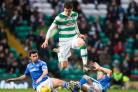 Nir Bitton in action for Celtic