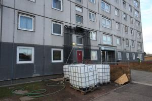 Water restored to more than 400 Possilpark homes