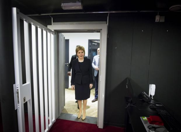 Nicola Sturgeon opens Glasgow Vaults