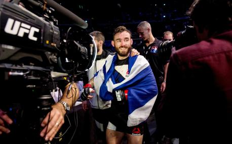 Scot Robert Whiteford to fight in UFC Fight Night in Croatia against Lucas Martins