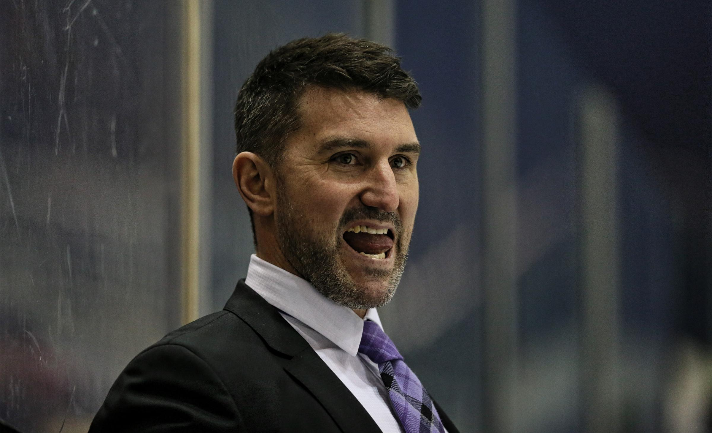 Former Braehead Clan head coach Ryan Finnerty