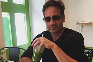 Evening Times: X Files star David Duchovny visits Glasgow restaurant