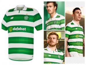 Evening Times: Glasgow Celtic unveil new home kit for football season 2016/17