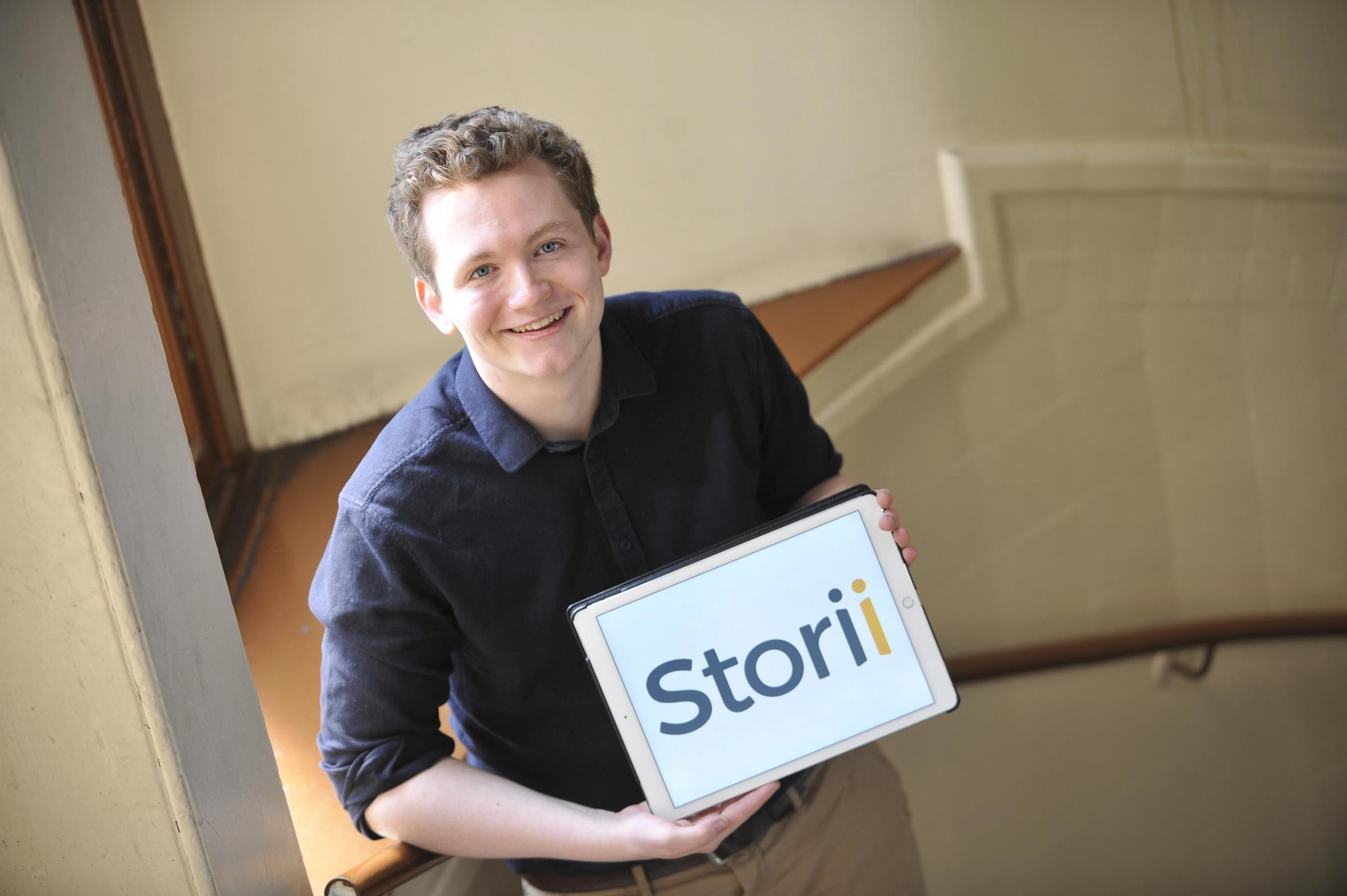 Young Glasgow entrepreneur wins £100k to further business that allows carers to record memories
