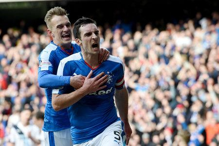 Evening Times: Lee Wallace in action for Rangers this season.