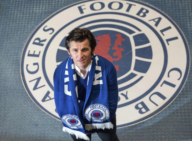24/05/16 . MURRAY PARK - GLASGOW . Rangers' newest signing Joey Barton is unveiled to the press at Murray Park.