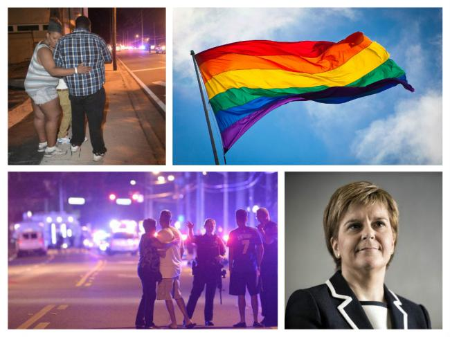 Pride flag to fly at half mast over Scottish Government HQ in memory of Orlando shooting victims