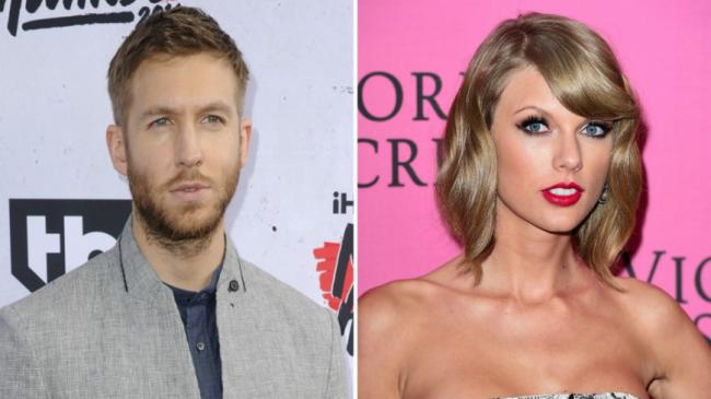 4a4bf7de8bc5b Is Calvin Harris throwing shade at Taylor Swift by wearing trainers  designed by Kanye West