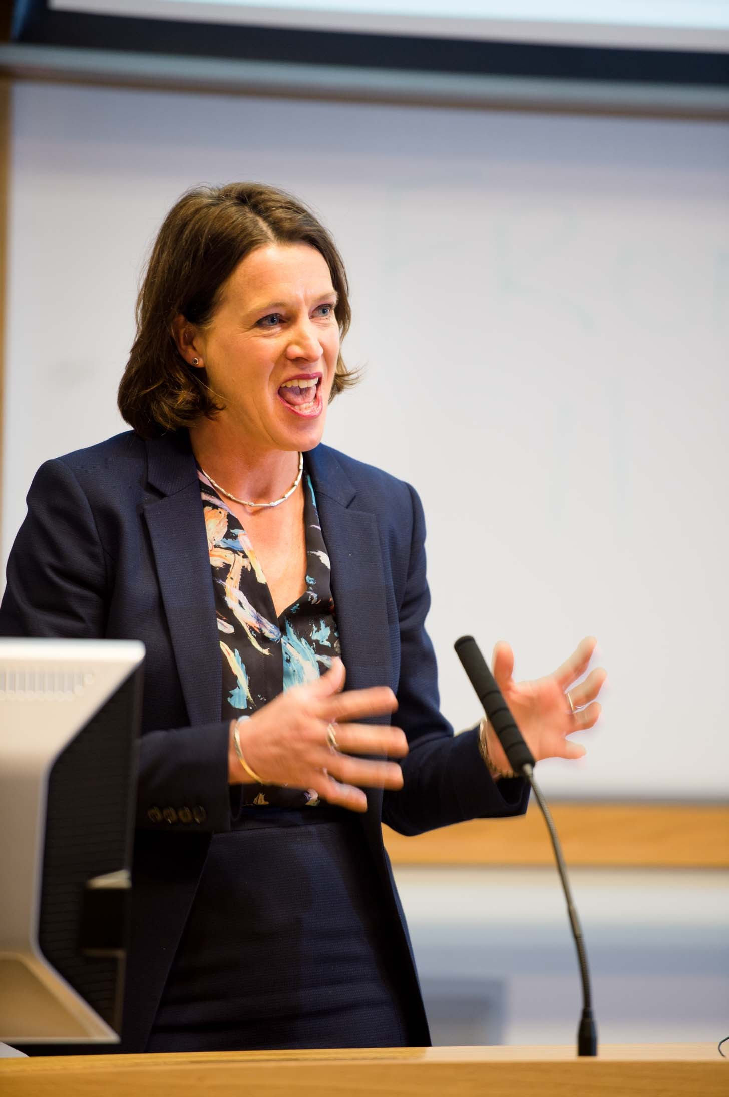 Dr Catherine Calderwood: Picture by Glasgow University.