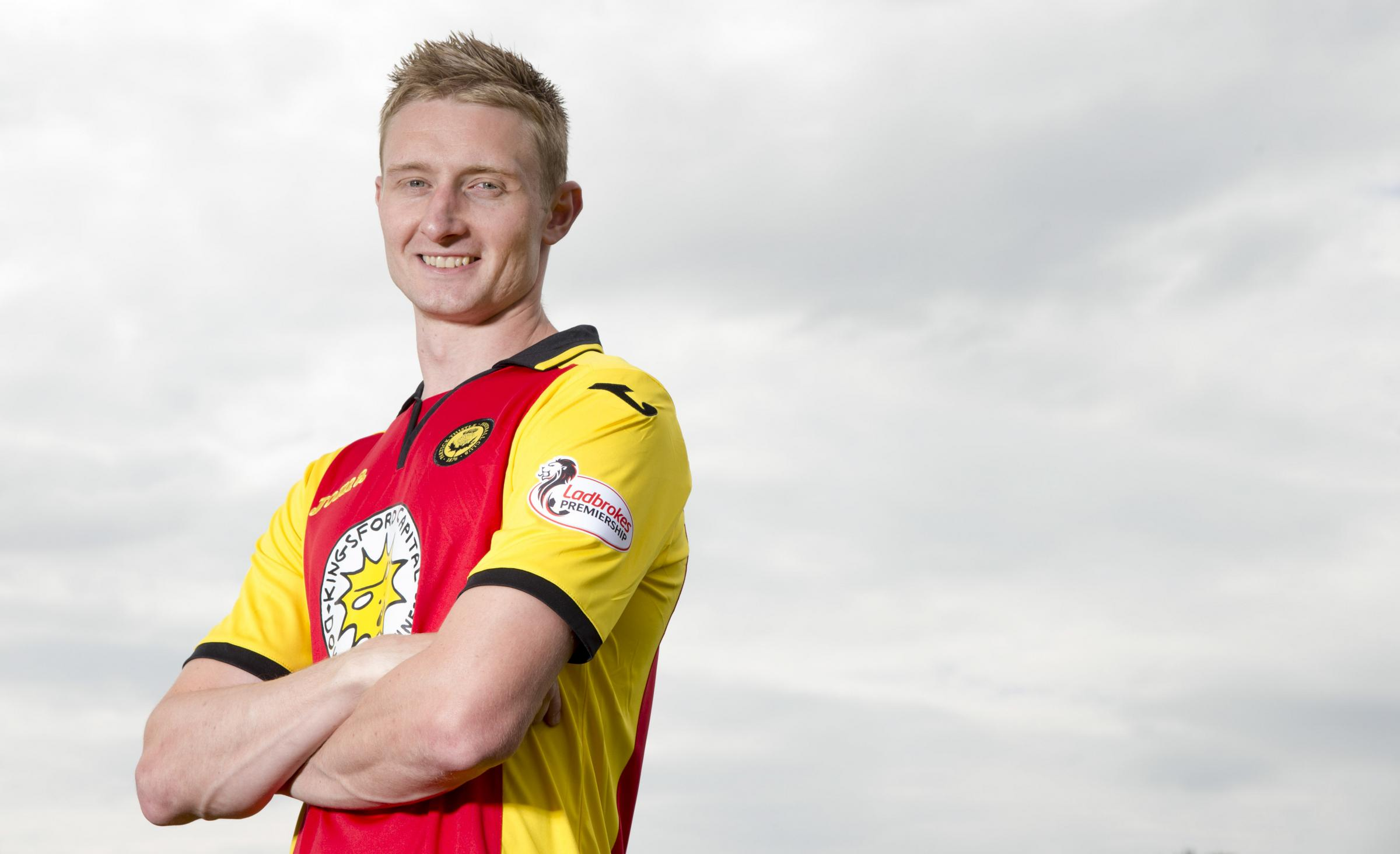 200 not out: Chris Erskine has set his sights on another century of games for Partick Thistle.