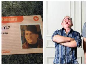 Evening Times: Chewing The Fat takes the train: Man gets rail card as Ford Kiernan character Ronald Villiers