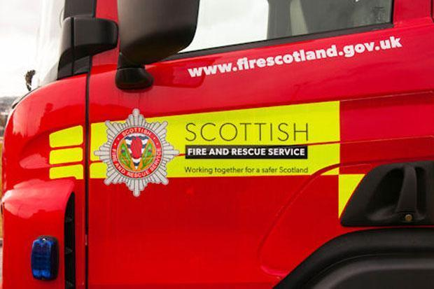 Scottish Fire and Rescue attended the scene..