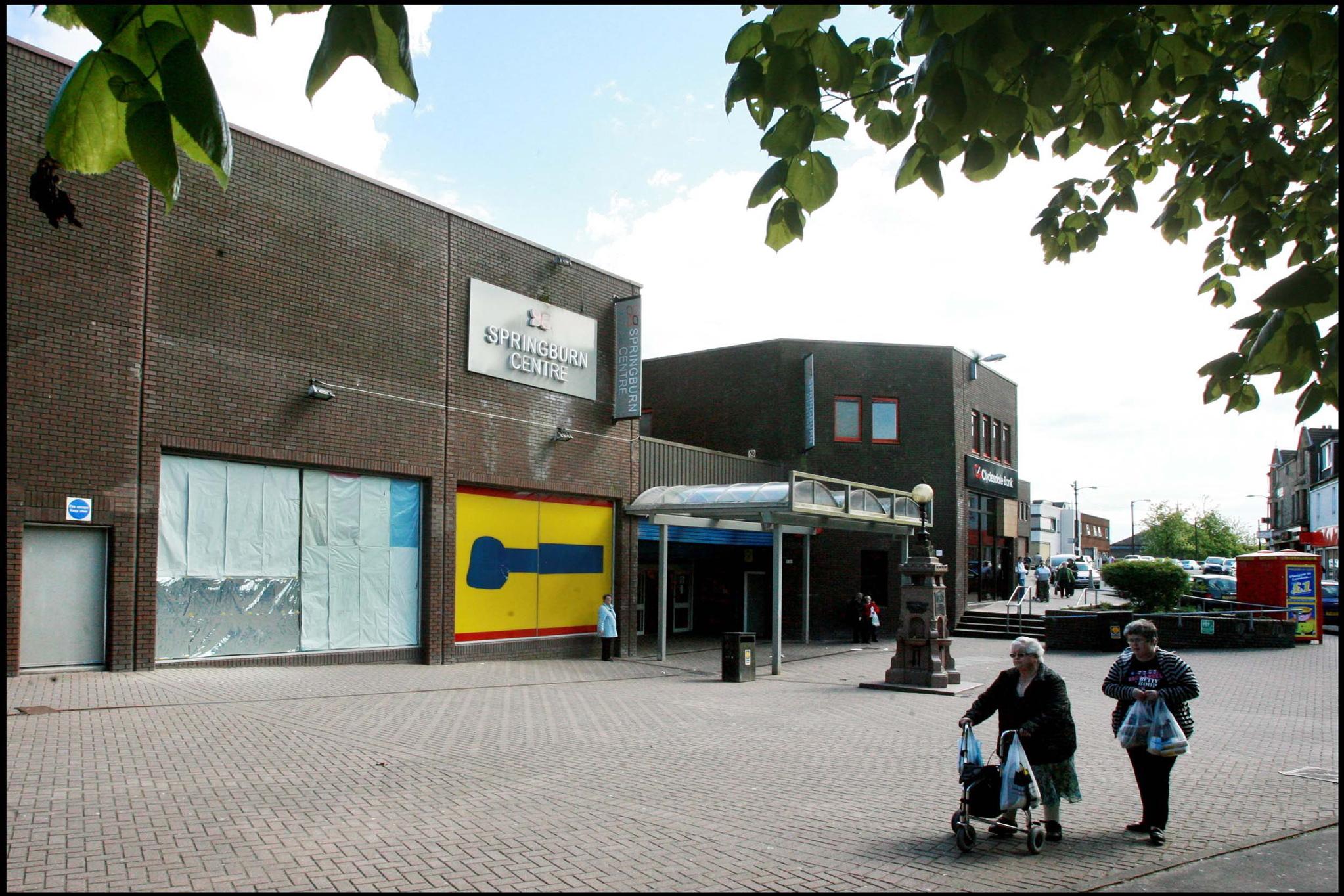 Springburn shopping centre toilets