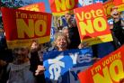 The future of the United Kingdom remains on a knife edge on the second anniversary of the Scottish independence referendum, a poll suggests.
