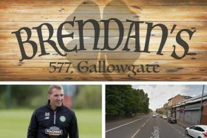 Evening Times: New Irish pub named after Brendan Rodgers to open on Celtic game days in the Gallowgate