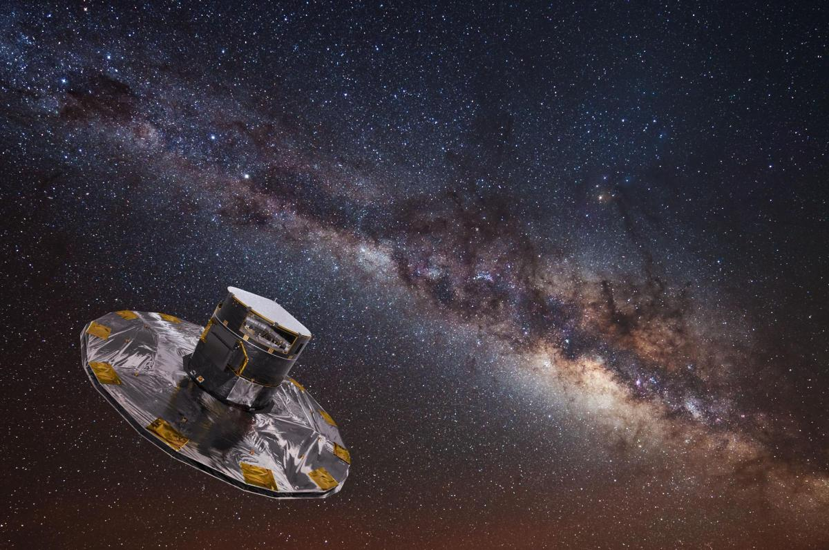 WATCH Space agency starts to plot map of one billion stars in 3D