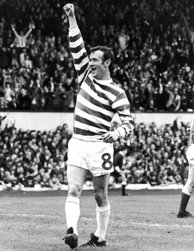 673670483a21 Celtic s Bobby Lennox celebrates scoring one of his 273 goals for the club