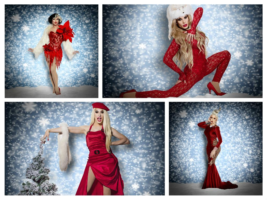 Christmas Queens.Start Your Engines Rupaul S Christmas Queens Announces