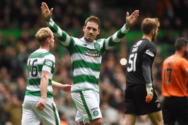 Evening Times: Football: Kris Commons is centre of attention again as Celtic thrash Dundee United