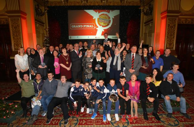 2016 Evening Times Community Champions. Photo credit: Colin Mearns