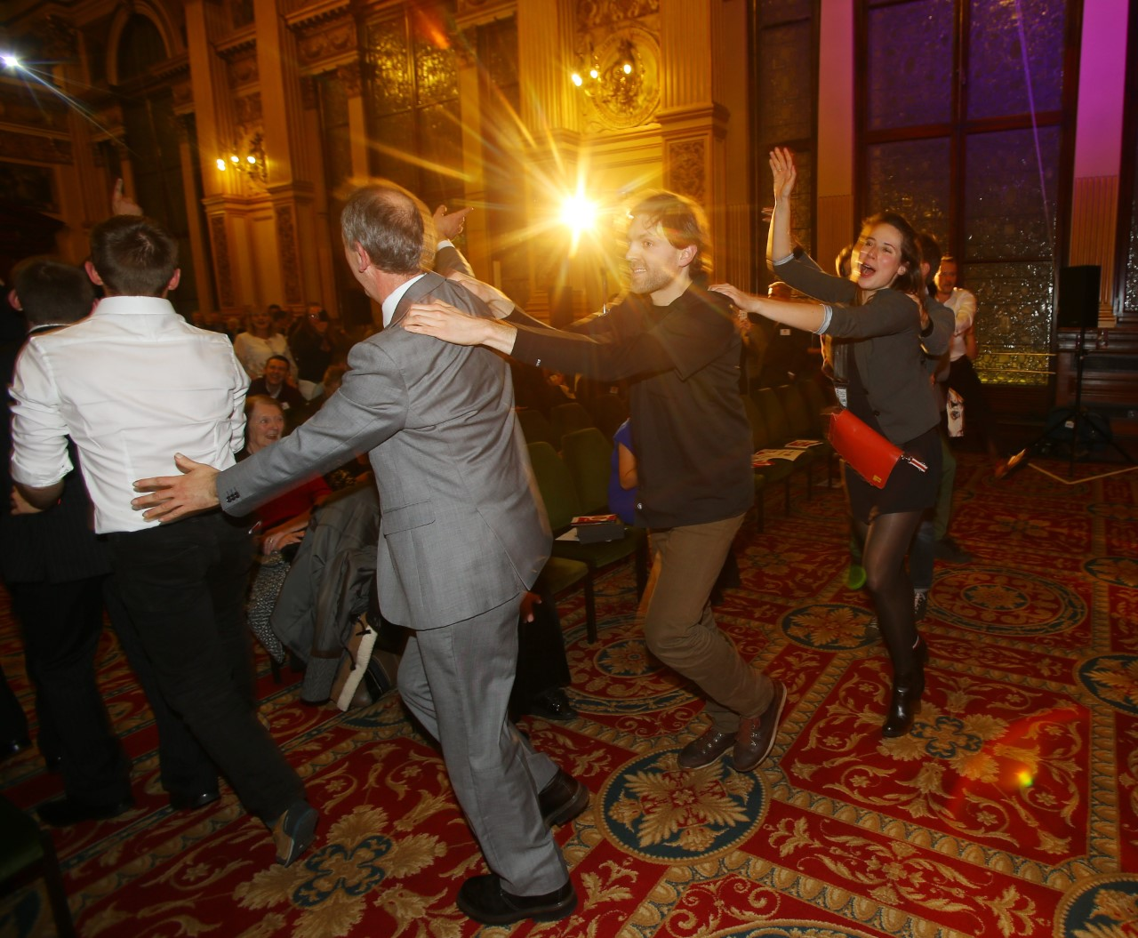 Community Champion Awards celebrate winners' success with conga in the City Chambers