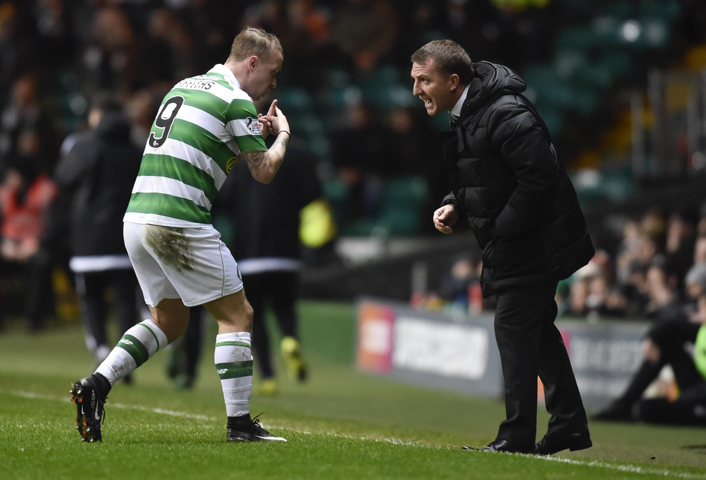 Billy Stark urges Celtic's Leigh Griffiths not to throw his career away