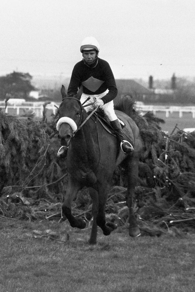 Brian Fletcher riding Red Rum to victory in the 1973 Grand National