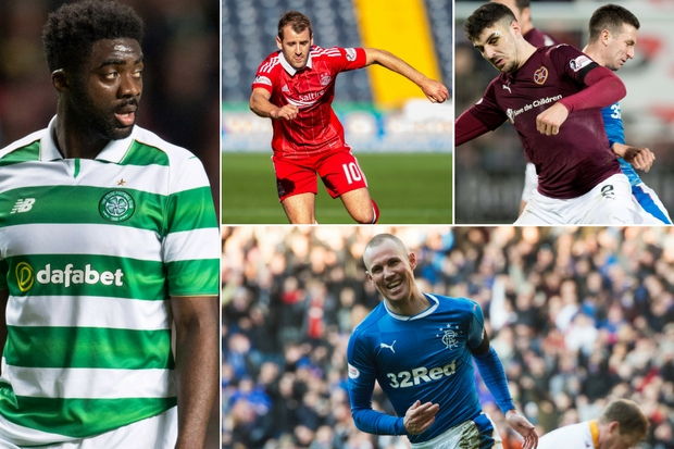 The Scottish Premiership stars with contracts running out this summer