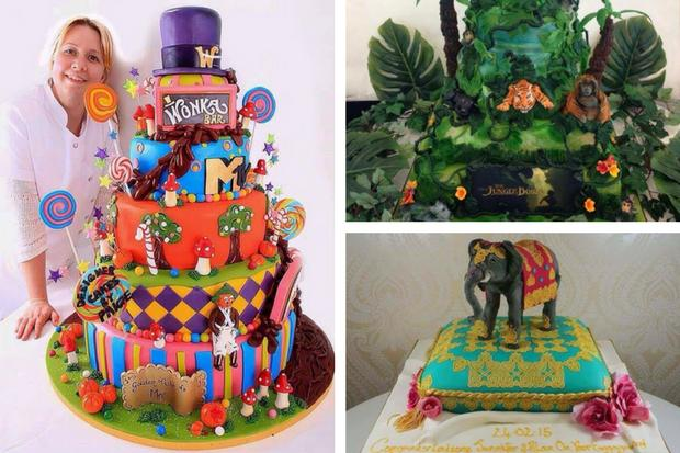 Glasgow Cake Maker Has Sweet Tooth For A Challenge But She Says