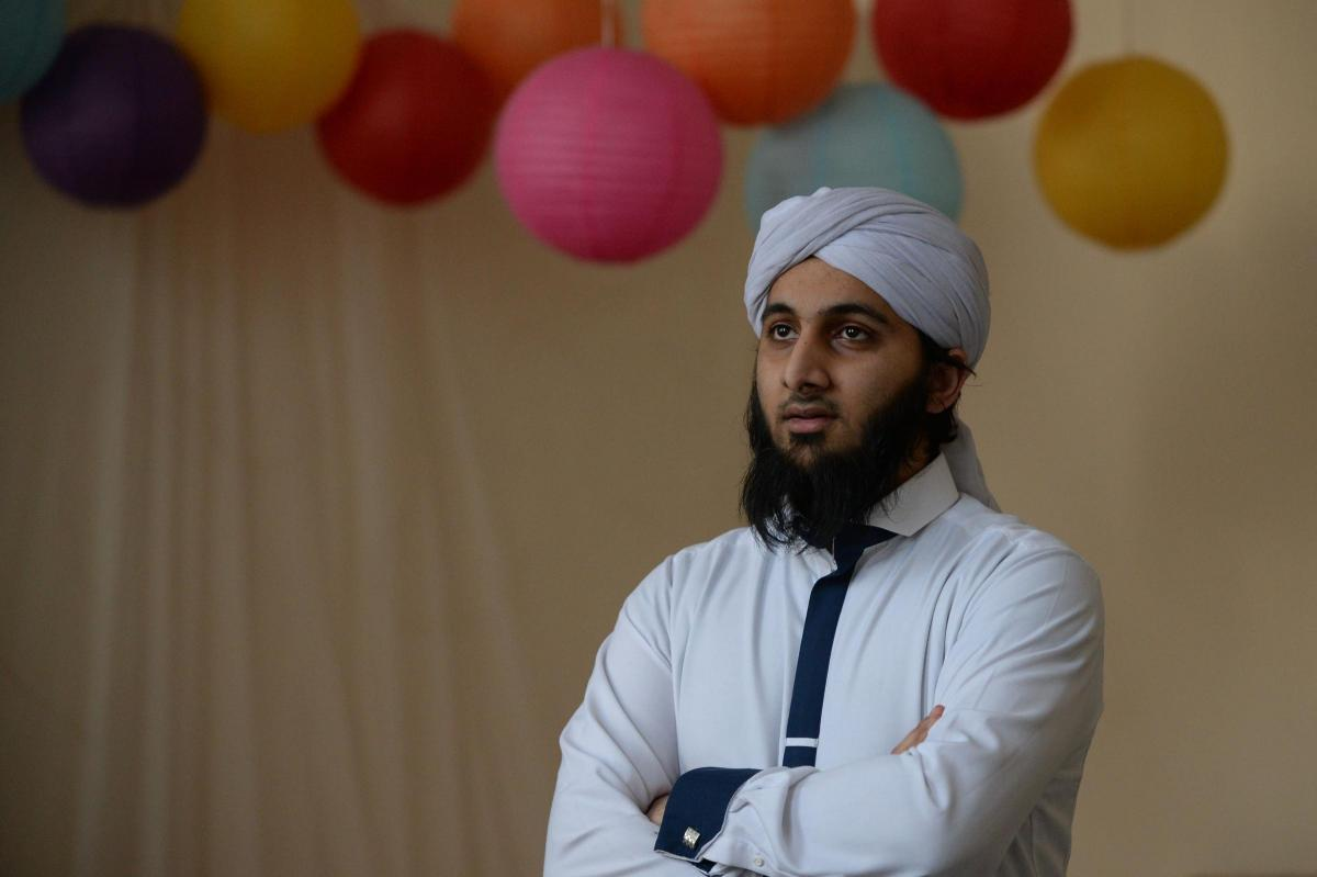 Shaykh Zoheeb Iqbal, pictured, said the school will 'promote tolerance and teach children about other religions' (Photo by Kirsty Anderson/Herald & Times)