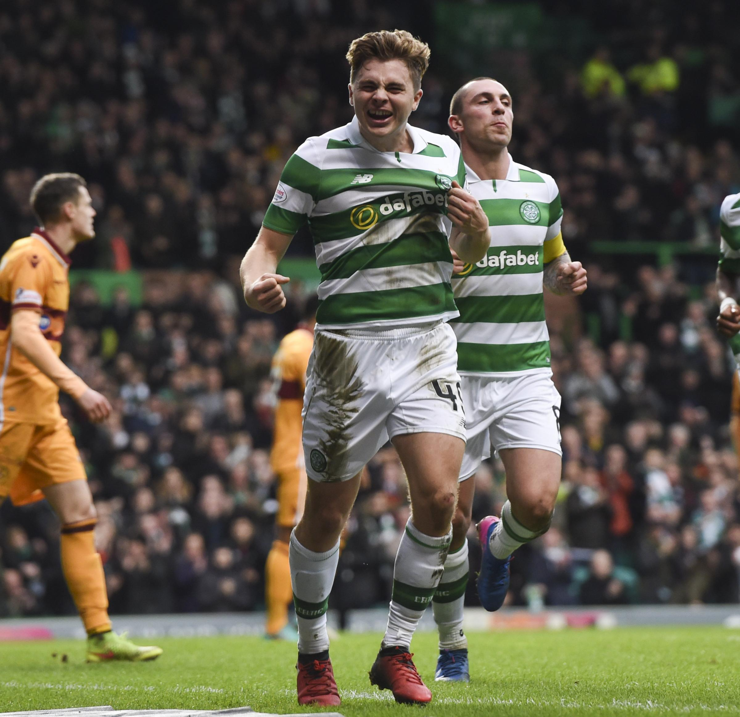 Celtic ratings: Forrest reigns as winger James is the star turn of a routine victory