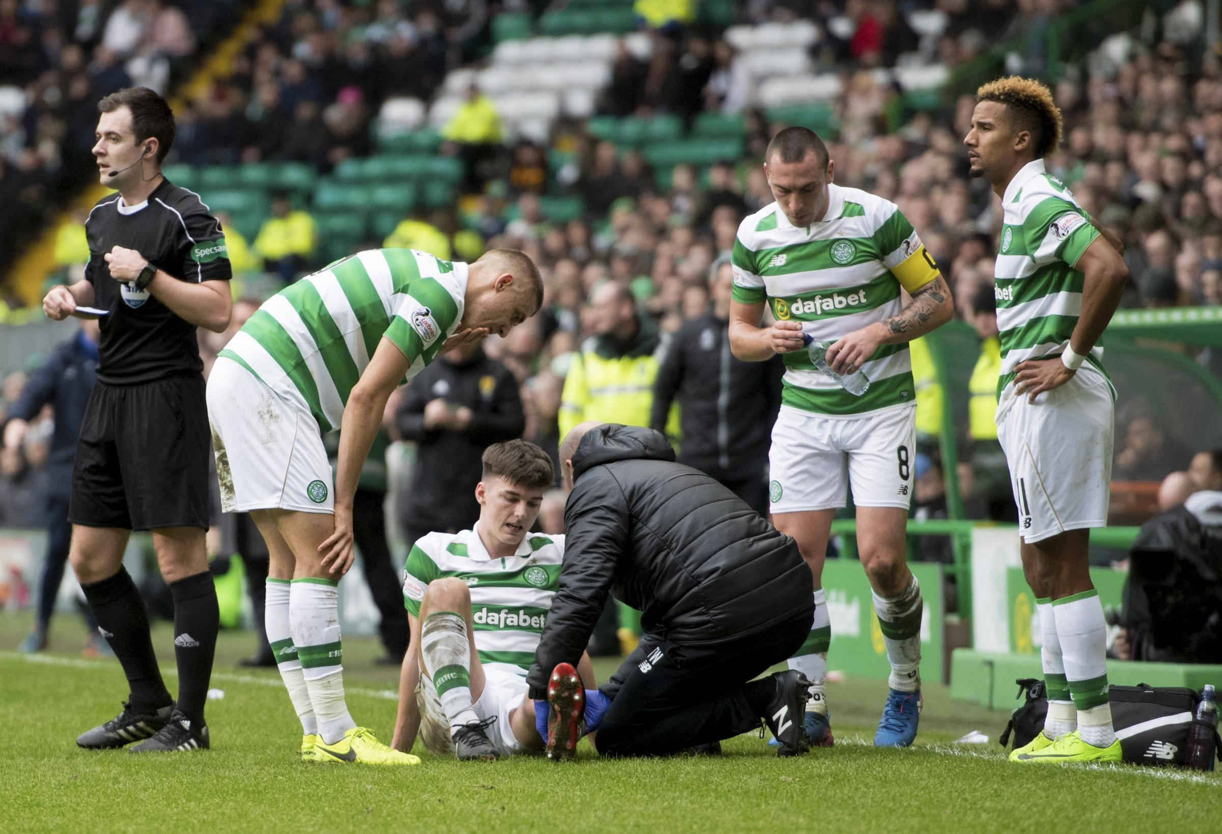Celtic youngster Kieran Tierney: I feared the worst after horror tackle left my knee cut and bleeding