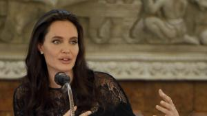 Evening Times: Angelina Jolie says her family will be stronger after divorce from Brad Pitt