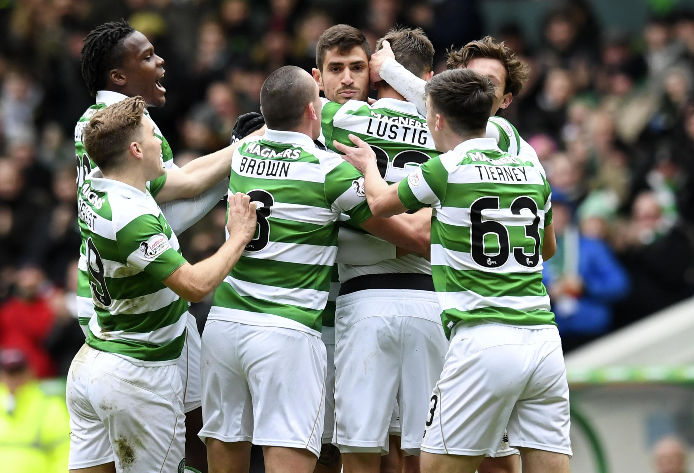 Hard work all done to sweat on the training ground, says Celtic defender Mikael Lustig
