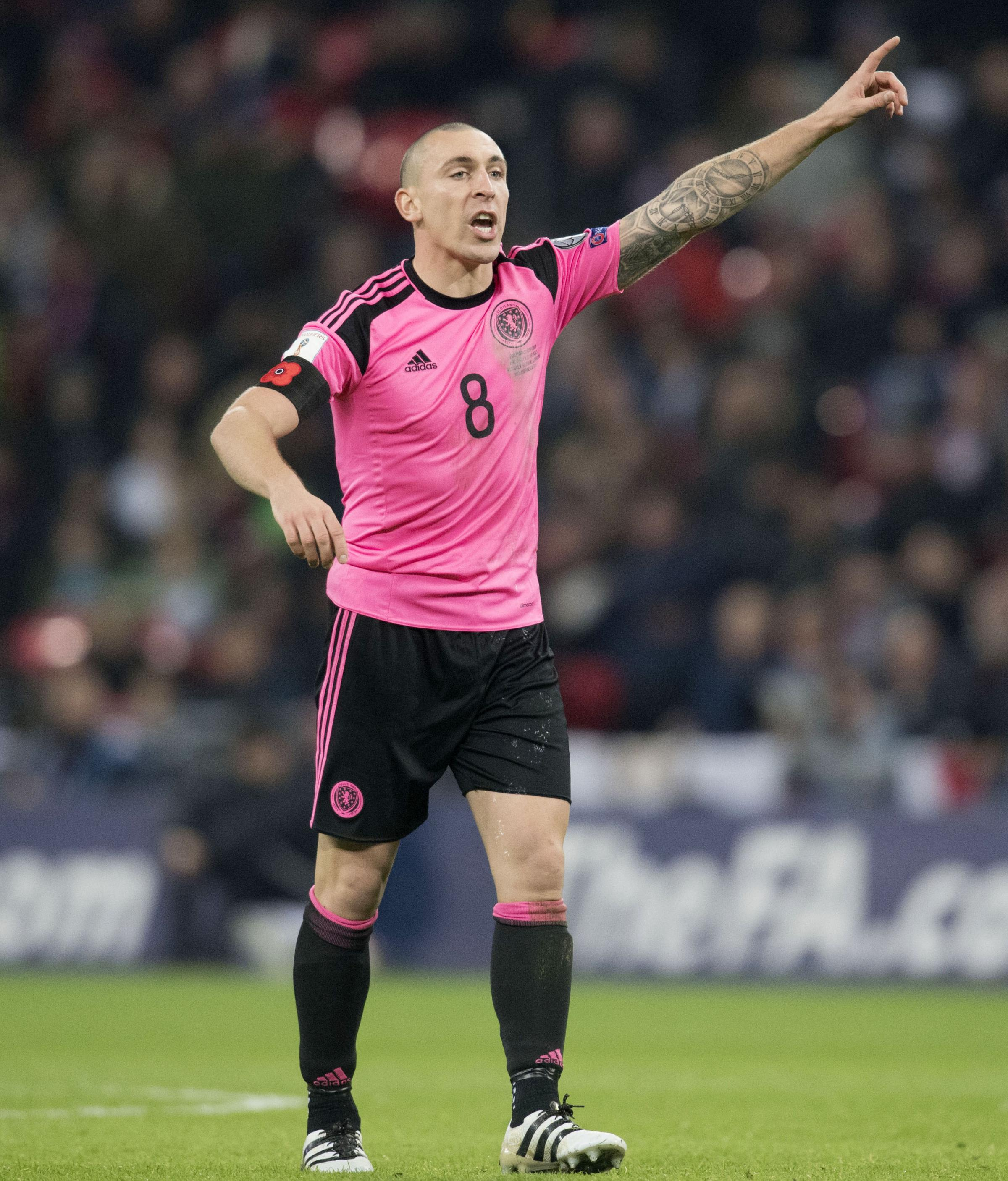 Scott Brown back for Scotland v Slovenia match but unlikely to play against England in June
