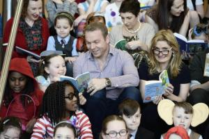 Evening Times: Cycling superstar Sir Chris Hoy joins kids to talk about his books