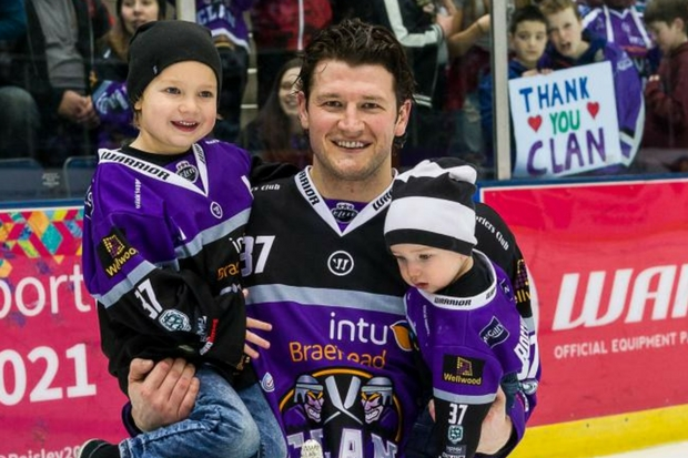 Jay Rosehill wants to hang around at Braehead Clan following Gardiner Conference title. Picture: Al Goold (www.algooldphoto.com)