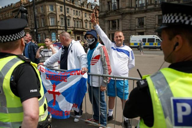 Fury as councillor's refugee warnings sparks far-right SDL protest plans in Wishaw